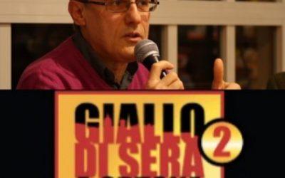 Valerio Varesi  sarà sul palco di Giallo di Sera a Ortona domenica 19 luglio ore 19.30